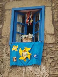 Fiestes de la Virxe de la Soledá en Cimavilla