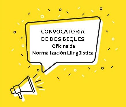 Convocatoria beques Oficina de Normalización Llingüística