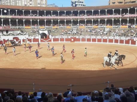 Feria de Begoña 2021 última corrida n'El Bibio