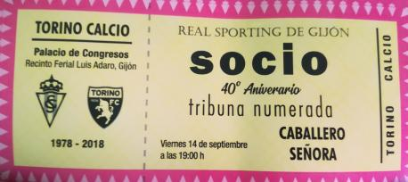 Homenaxe Sporting-Torino