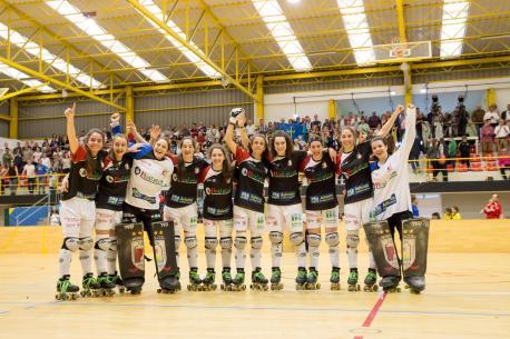 Doblete del Hostelcur: suma la OK Lliga a la Copa d'Europa ganada en Portugal