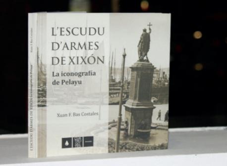 'L'escudu d'armes de Xixón. La iconografía de Pelayu', de Xuan F. Bas Costales recortada