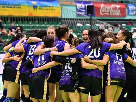 Liberbank Xixón 26-20 KH-7 Granollers (3 de setiembre 2020) cuartos Copa