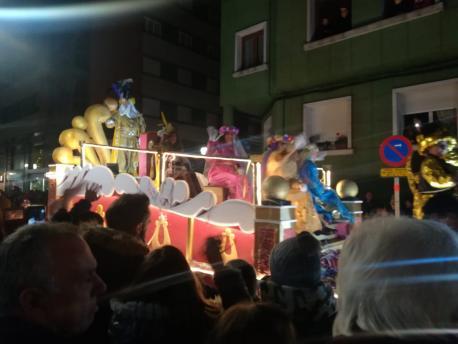 Melchor Reis Magos en Xixón 2019