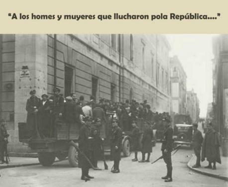 El Conceyu recuerda con una placa a les víctimes de la represión fascista
