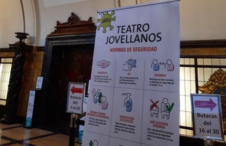 Teatru Xovellanos COVID-19