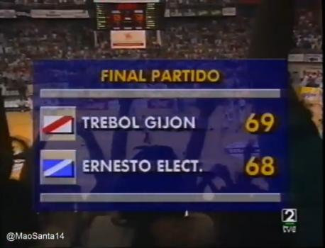 Trébol Gijón 69-68 Ernesto Electrodomésticos